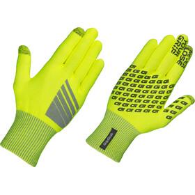 GripGrab Primavera Hi-Vis Cykelhandsker, fluo yellow